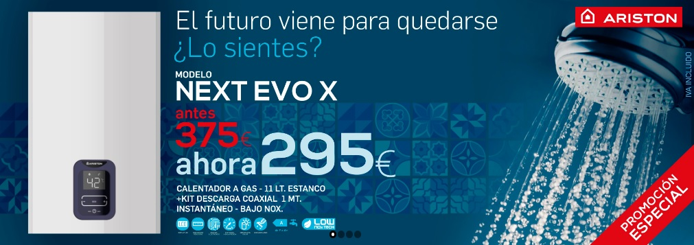 Ferretería Xerez ofrece el Next Evo de Ariston a un precio inigualable